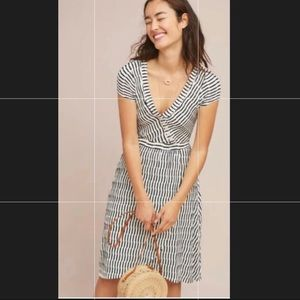 Anthropologie Paladini Textured Dress By Maeve